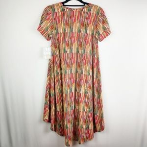 LuLaRoe Dresses - LulaRoe Rainbow Carly Dress
